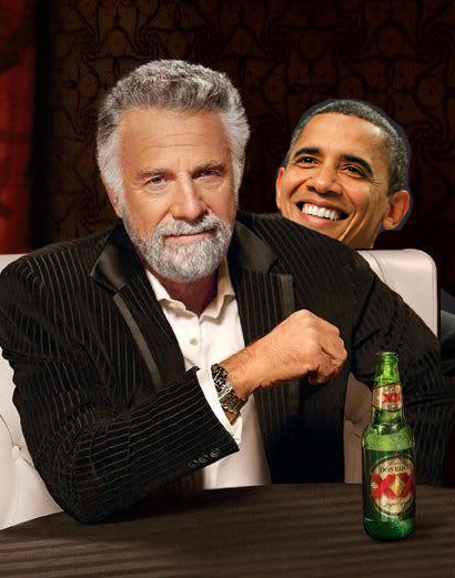 Obama fundraiser led by Dos Equis pitchman